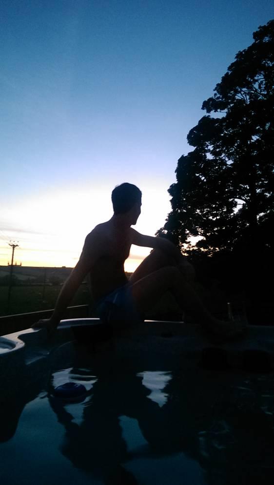 Hot tub Person